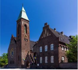 Felags norðurlendsk guðstænasta og samrøðusalon í svensku kirkjuni í Keypmannahavn